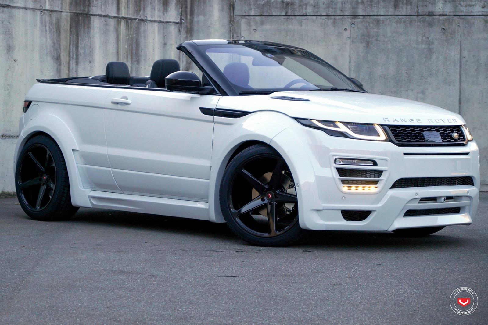 range rover evoque hamann wide body with vossen wheels. Black Bedroom Furniture Sets. Home Design Ideas