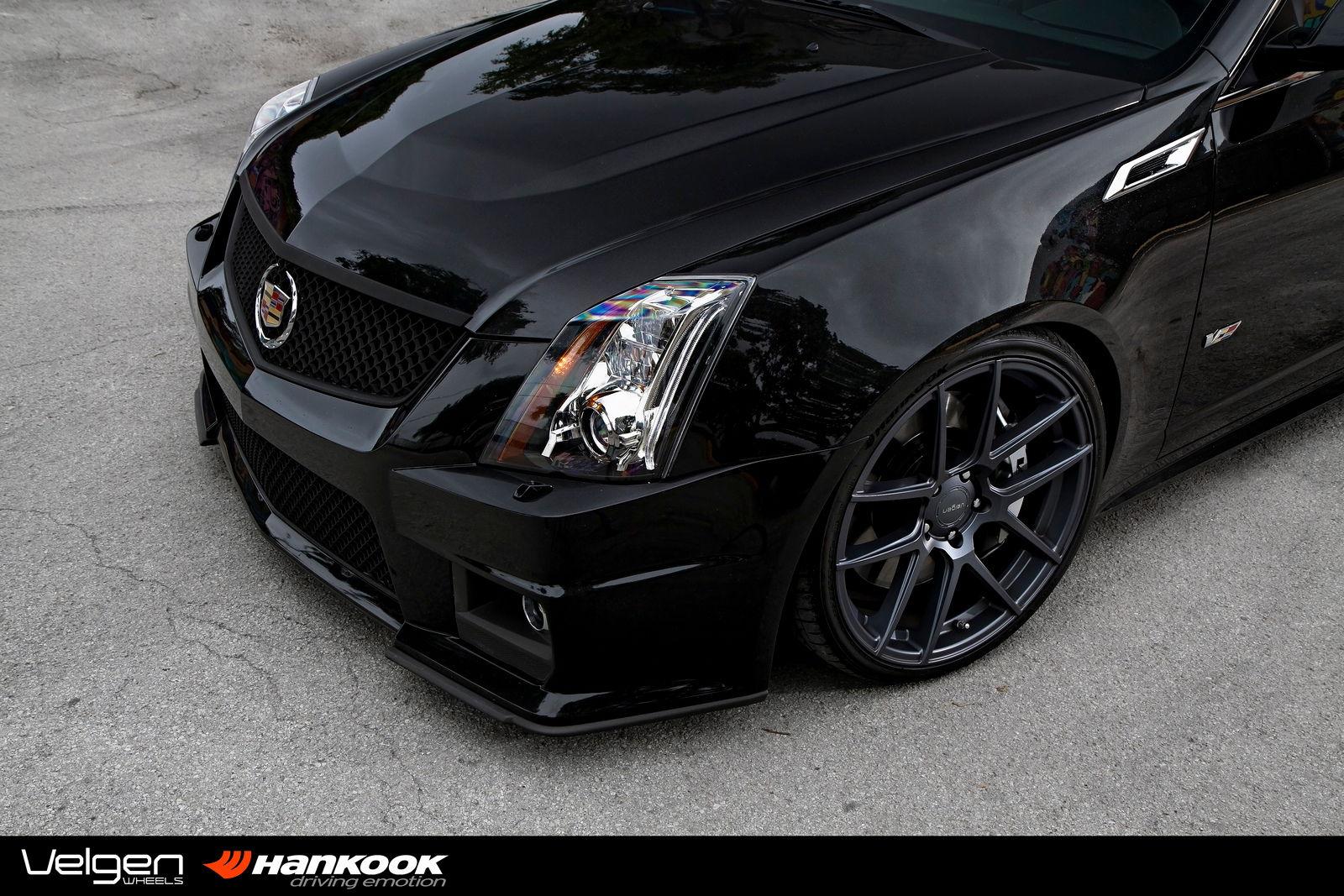 Cadillac CTS-V on Velgen Wheels VMB5 - Teamspeed.com