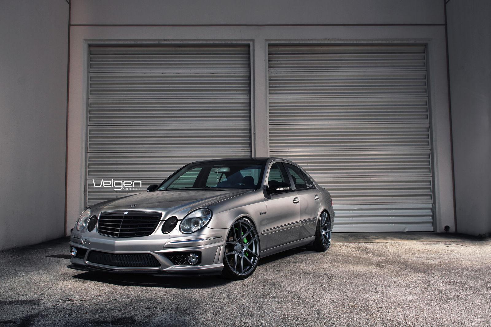 Mercedes benz w211 on velgen wheels 6speedonline for Mercedes benz 6 wheel