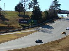 Down the Hill at Road Atlanta
