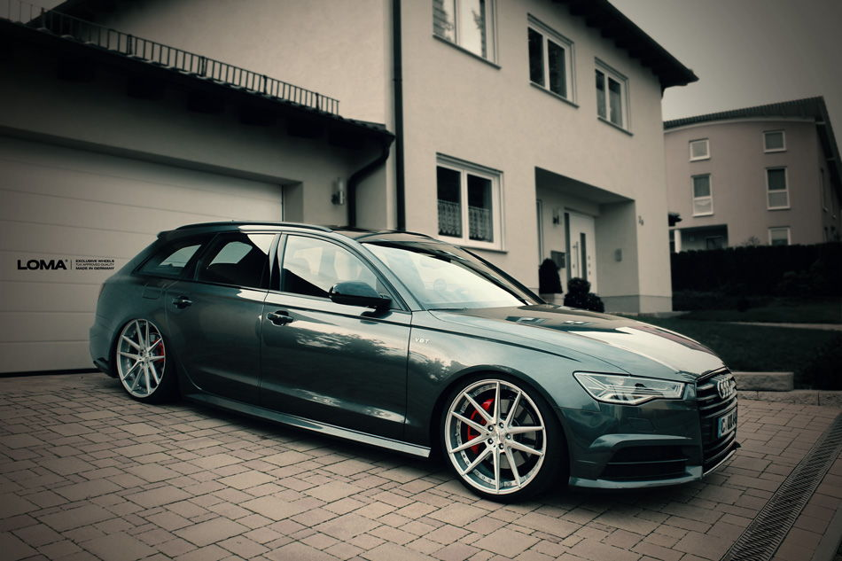 365hp Audi A6 Tdi With 21 Inch Loma Wheels 6speedonline