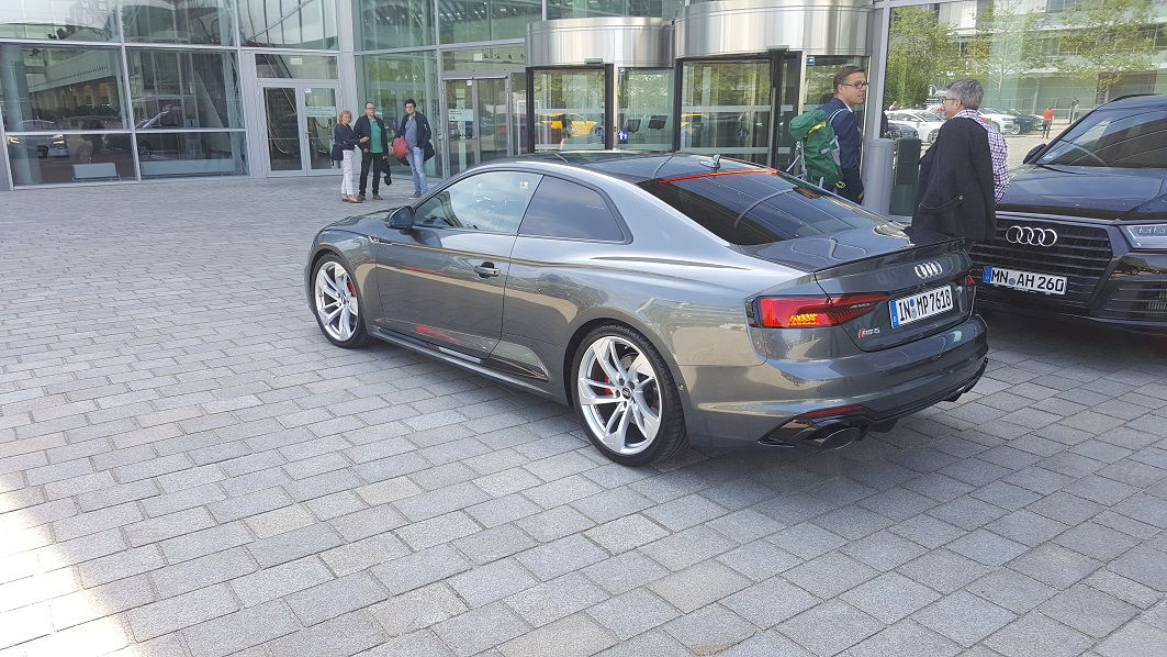 Spotted In Ingolstadt 2018 Rs5 Coupe Daytona Grey Black