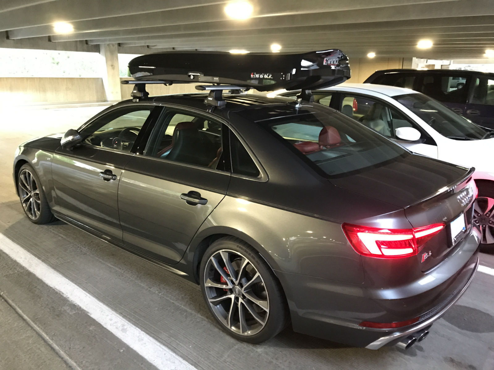 Audi San Jose >> Roof rack and cargo box fitted - AudiWorld Forums