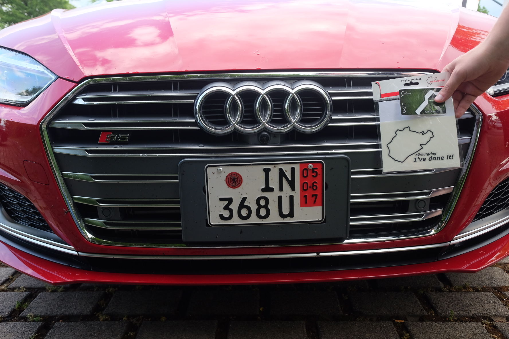 Fantastic enjoy the nurburgring was awesome more pics of our journey to come