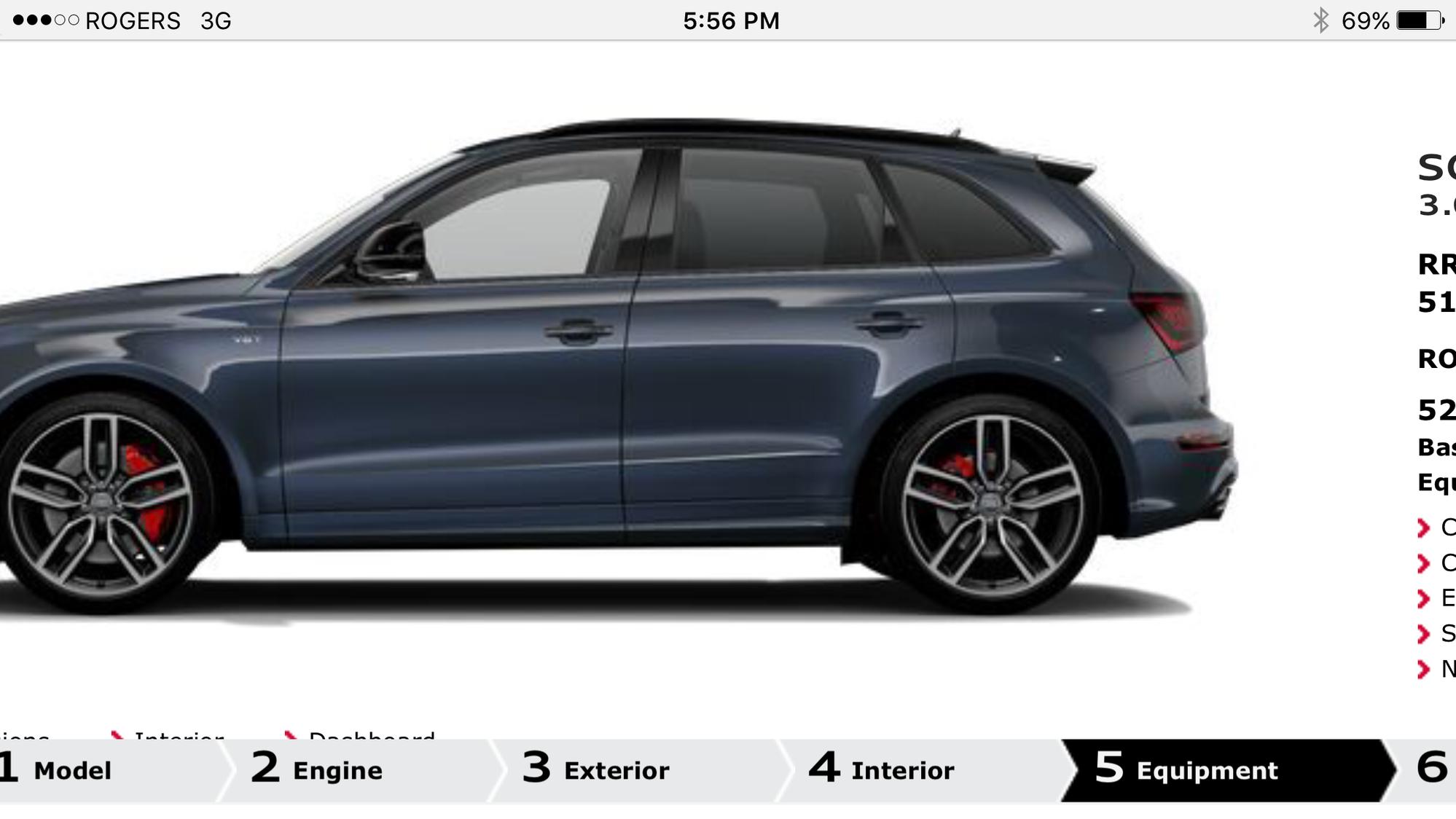 Audi SQ5 Moonlight Blue / Black Optics - AudiWorld Forums