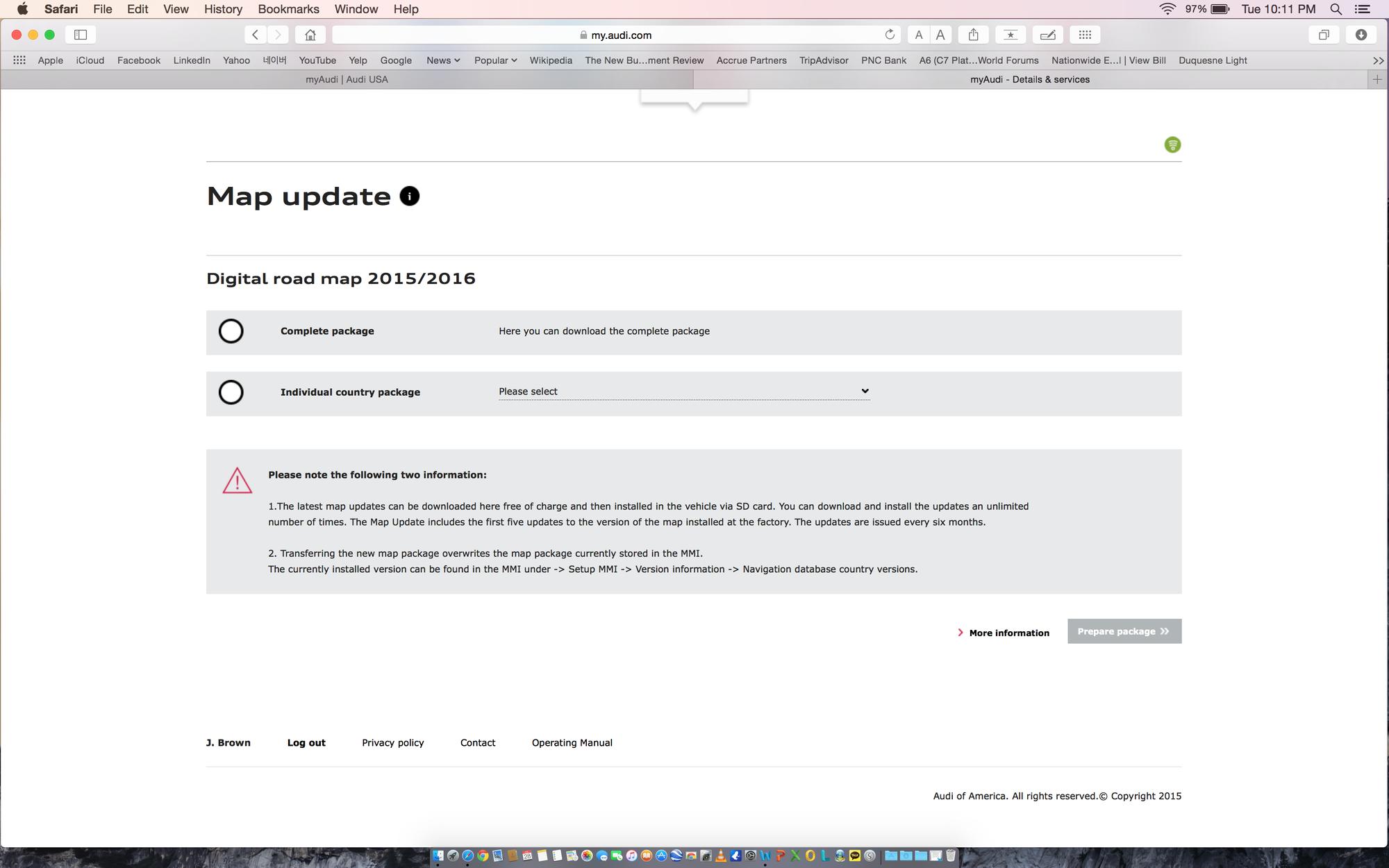 A6/C7 Navigation Update - AudiWorld Forums