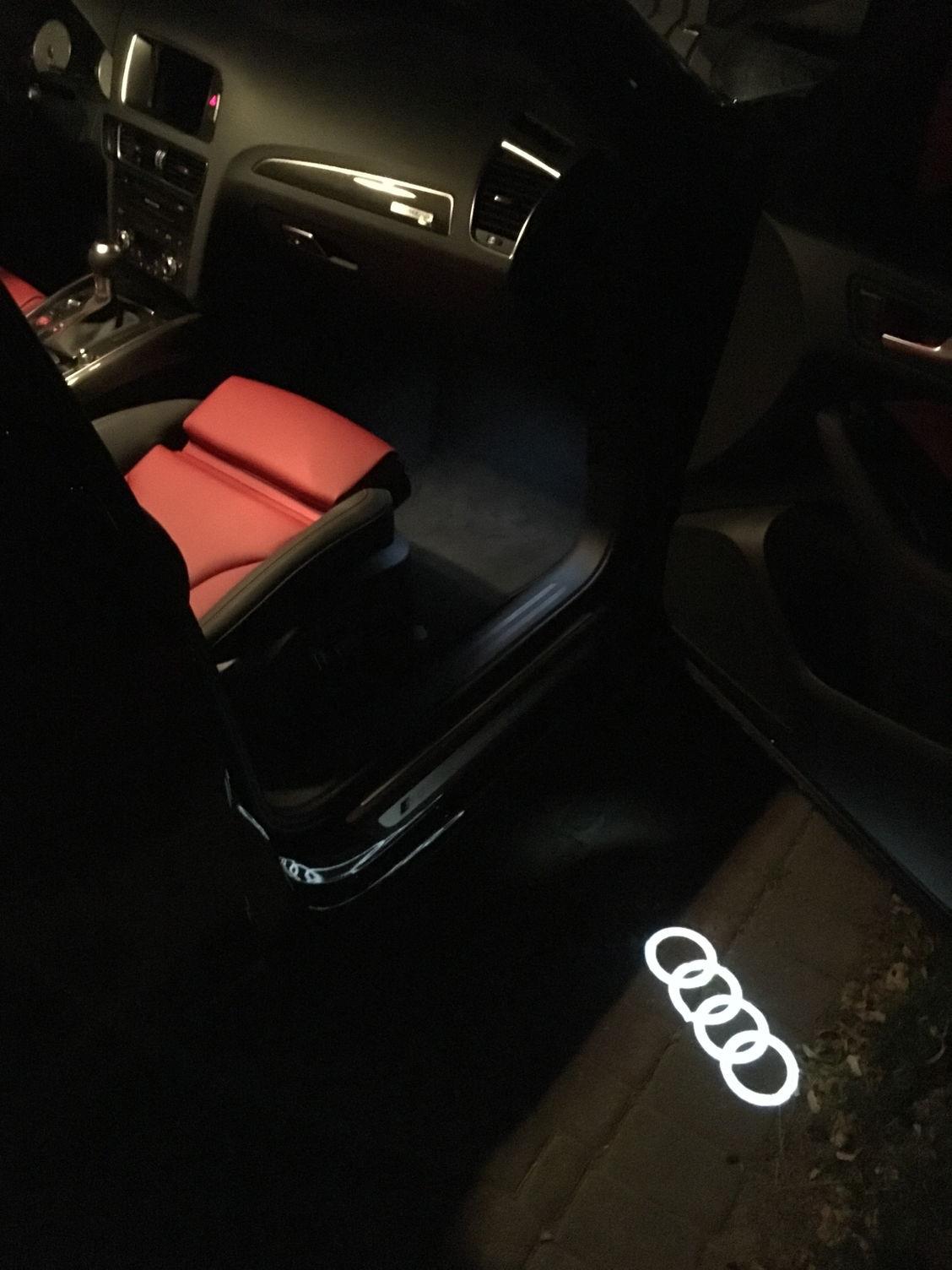 Audi Logo Projector Door Light Page 9 Audiworld Forums