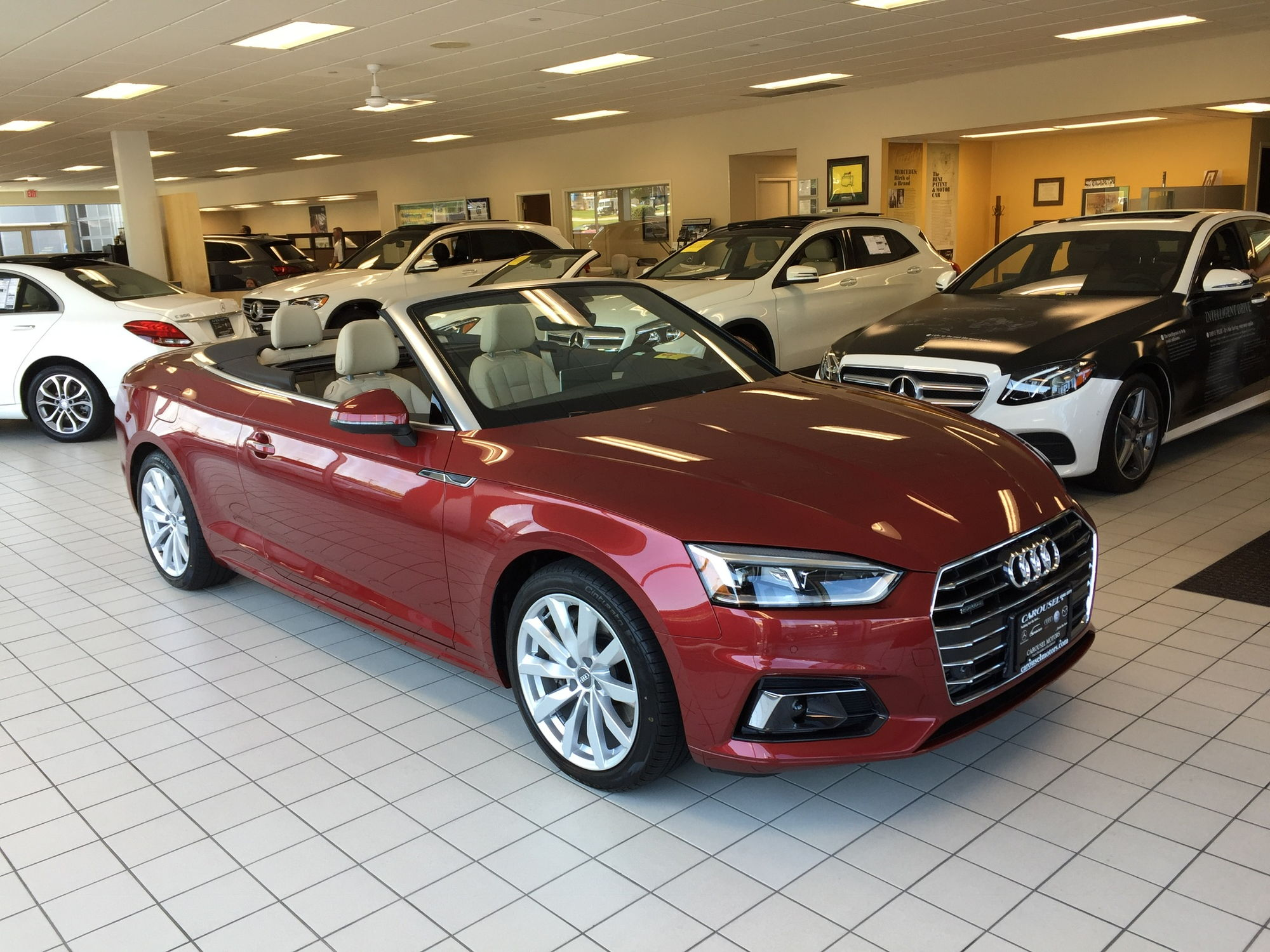My matador red cabriolet arrived saturday love the color photo attached