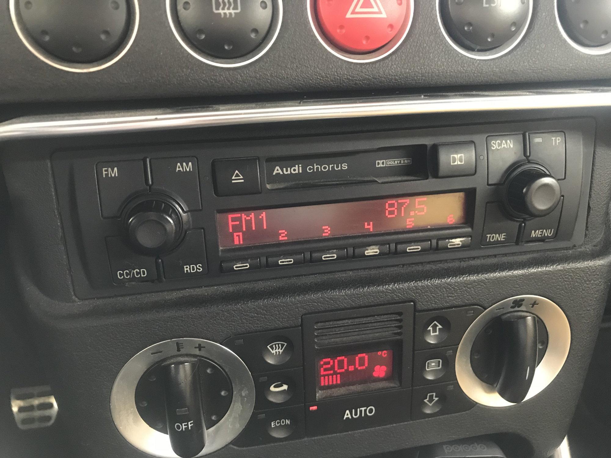 Can I Bluetooth my Chorus   ?? - AudiWorld Forums