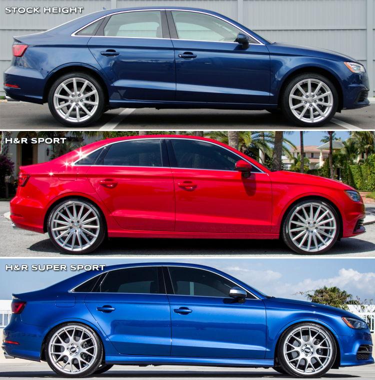 Audi A3 S3/A3 H&R Sport Springs