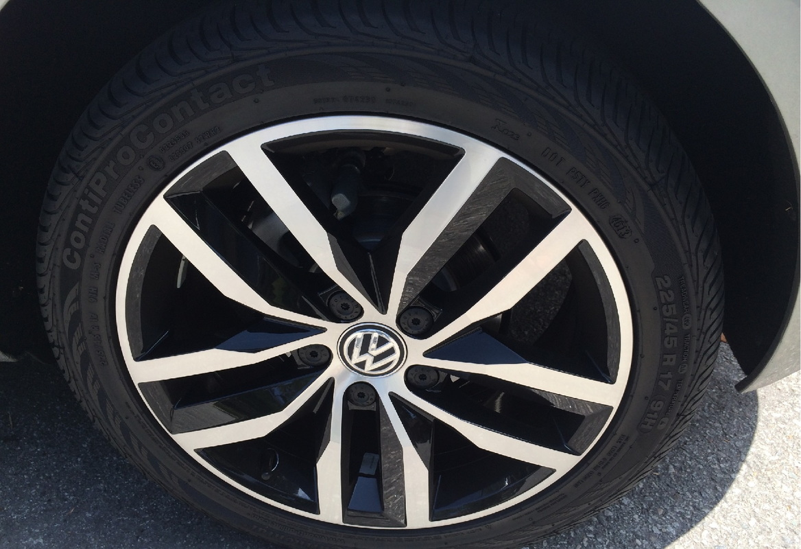 2015 Volkswagen Golf TDI Wheel
