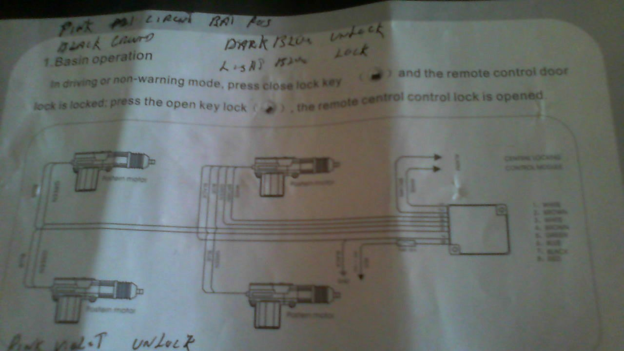 Remote Diagram Entry Wiring Keyless 2001 Xj Library This Is The Image Of Generic Wire It Hard To Read But Installing 99