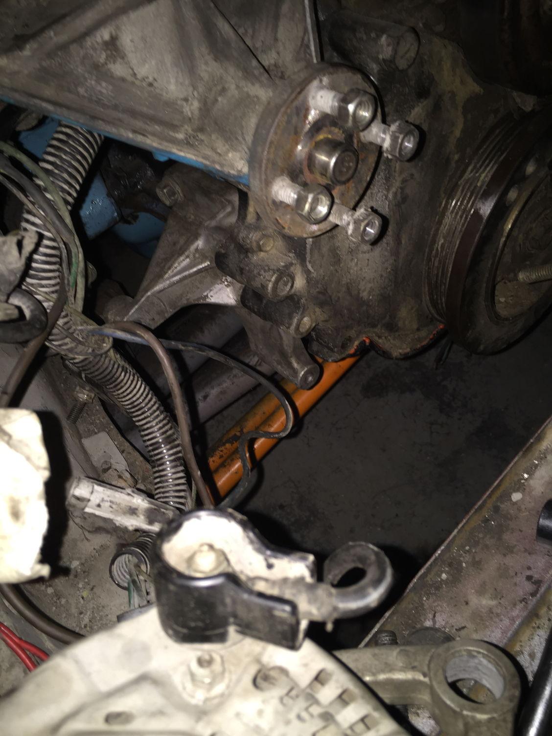 Wtt  Pacnorwest   Ho Motor Alternator Bracket
