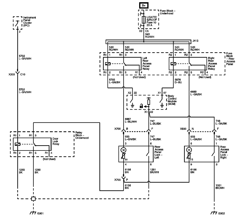 door popper wiring diagram