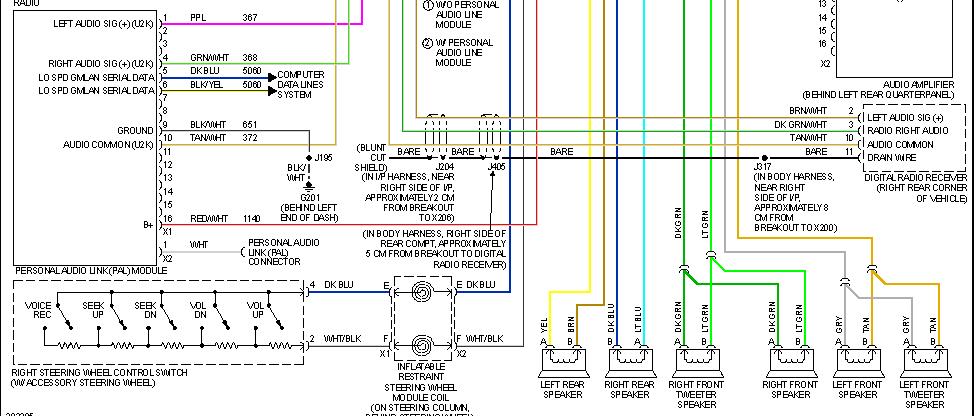 Stock Amp Wiring Diagram Chevy Hhr Network