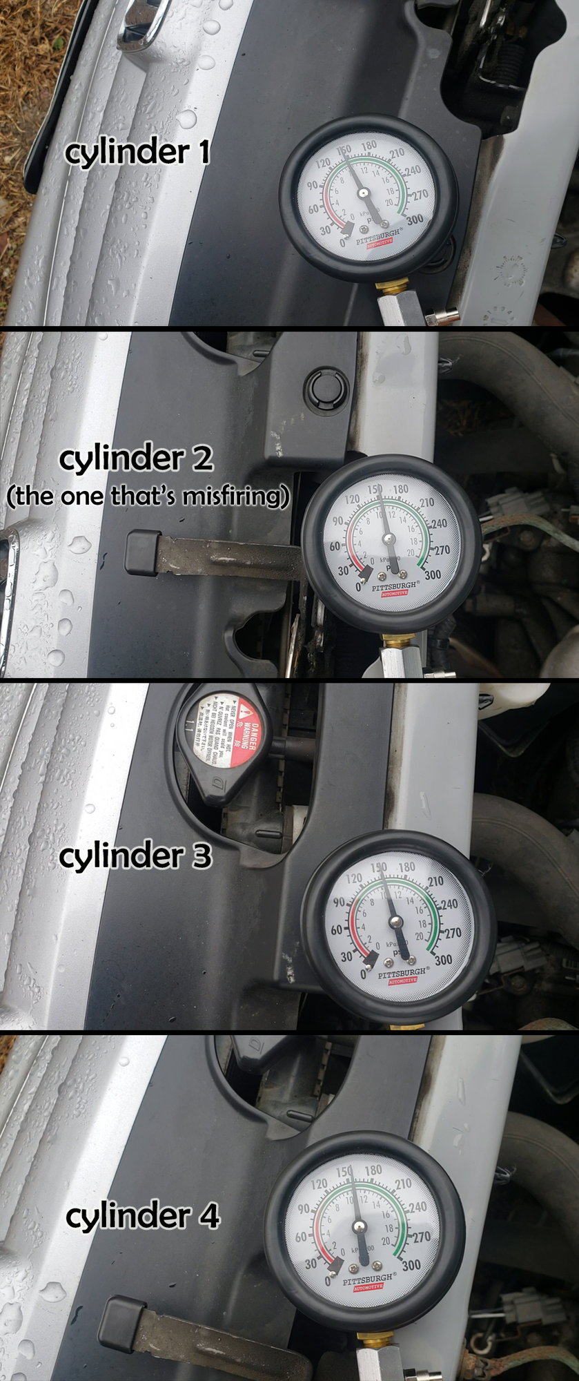 Spark plug tube seals vs  ignition coil seals vs  lower tube