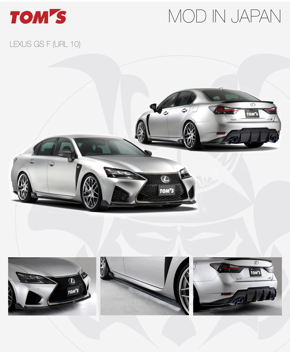Used Lexus In Nj: New Product Tom's Racing Japan Lexus GS F Aero Kit In