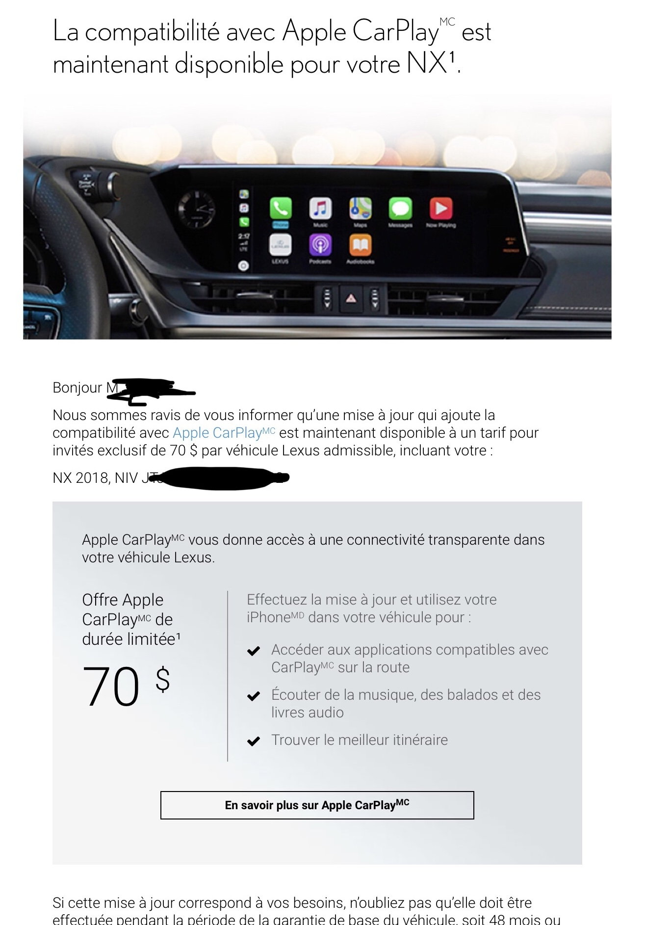 Lexus Enform 2 0 to update with Apple CarPlay - Page 20