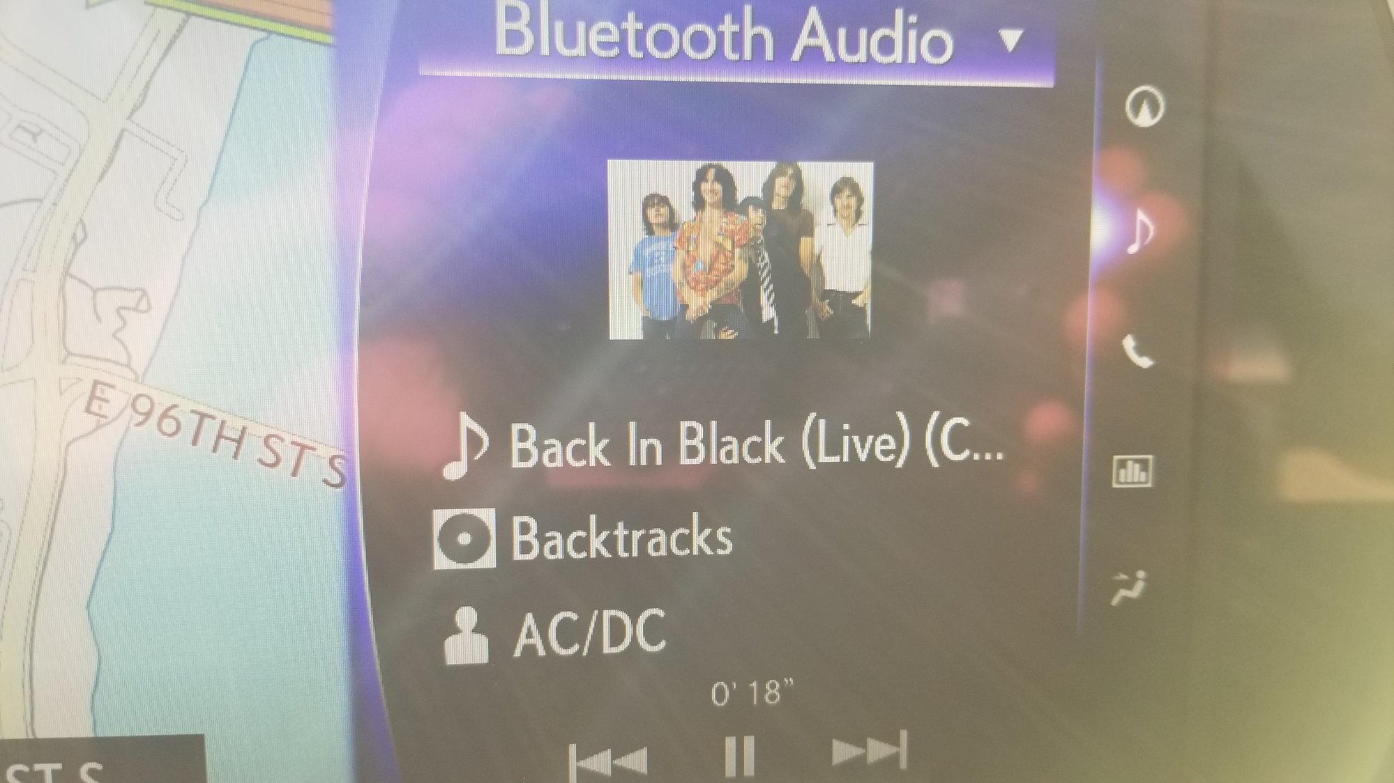 How to display album art from my phone? - ClubLexus - Lexus