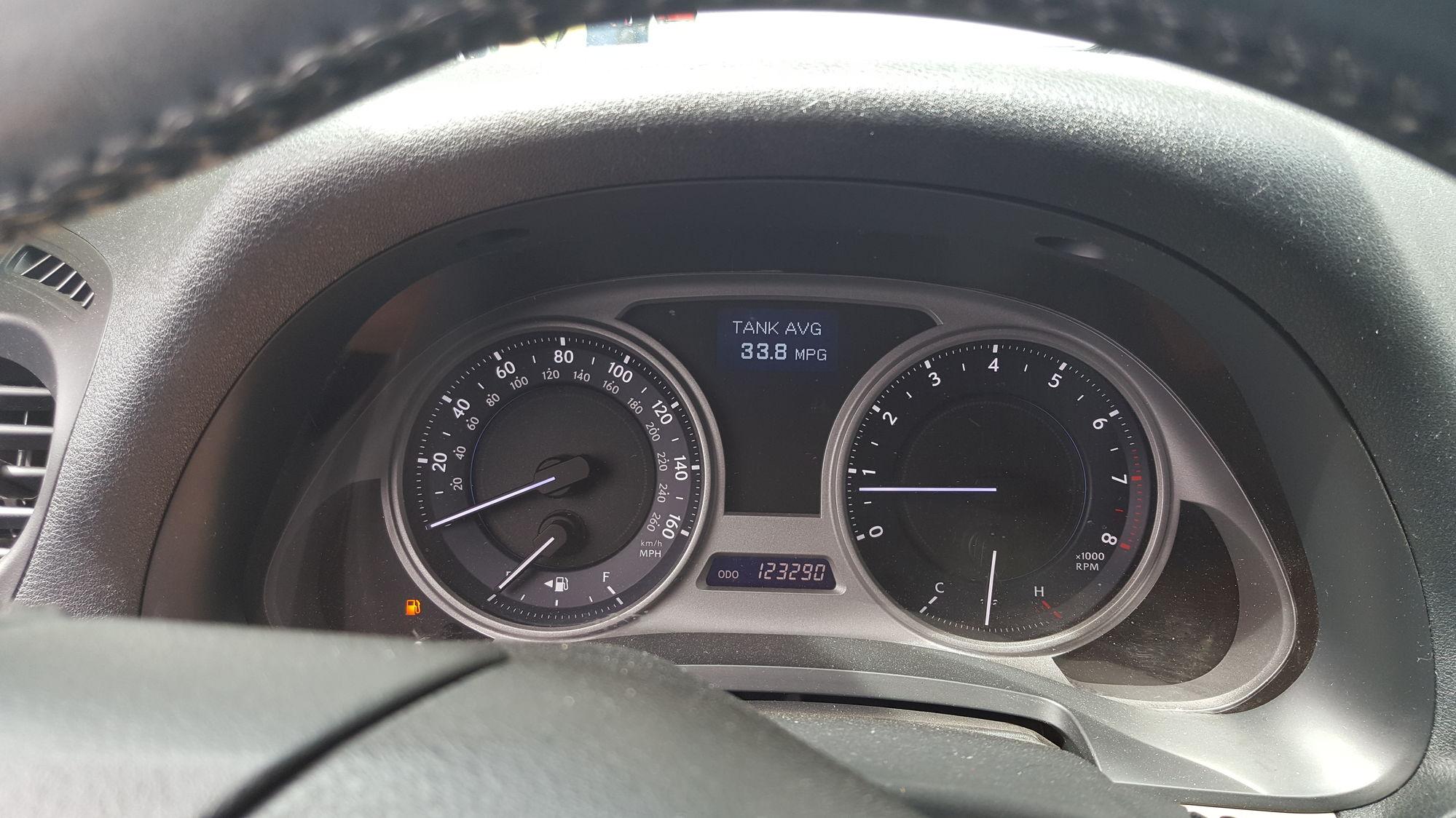 Hypermiling (IS250 6MT) - ClubLexus - Lexus Forum Discussion
