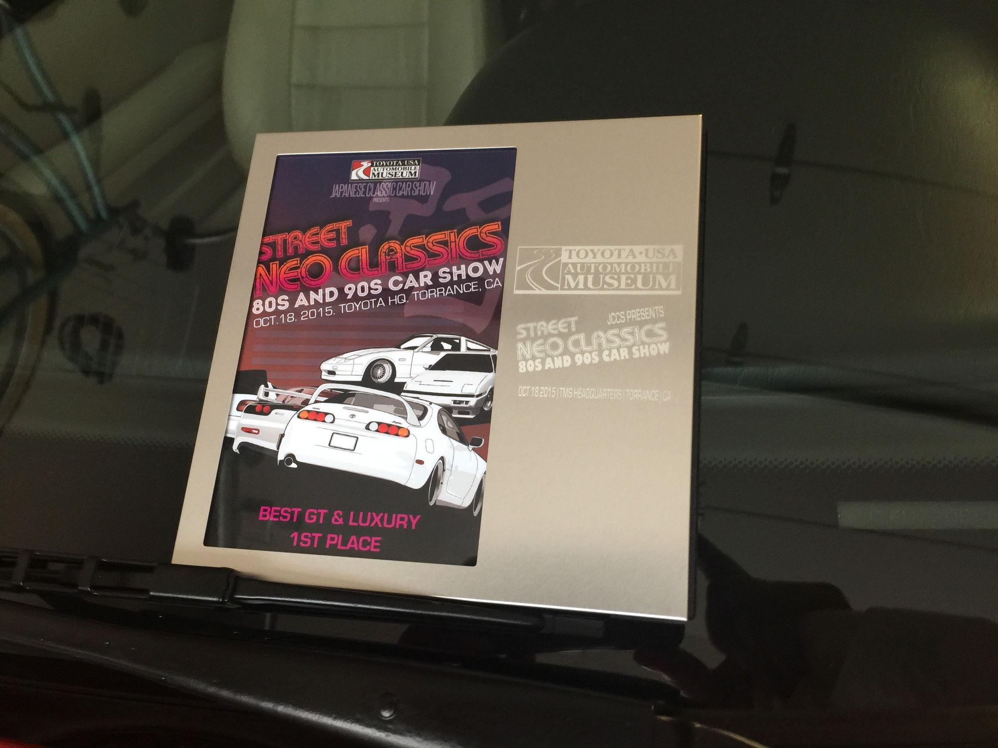 Won St Place Best GT  Luxury Street NEO Classics ClubLexus - Best car museums in us