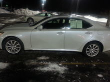 On lot night before I picked her up for delivery
