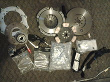 The adapter set for slave cylinder and 1uz to w58 bellhousing to trans,3sgte clutch kit 1uz flywheel ect.