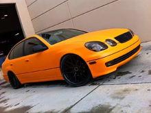 matte Orange VIP GS300