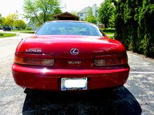 Red Car Original Owner Stick