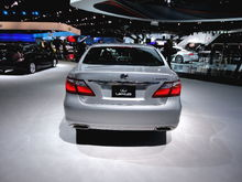 Lexus at the 2011 LA Auto Show