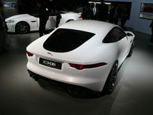 Jaguar C X16 rear,
