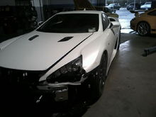 First LFA Crash Pics