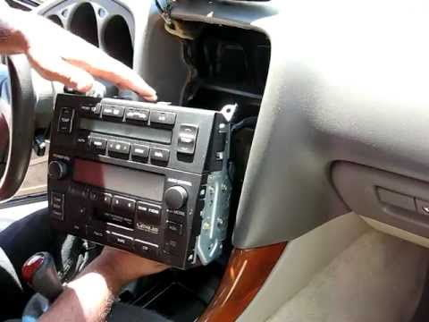 how to install an aftermarket radio in 1998 lexus es300 club 4 there will be a bracket on the side that connects the climate control and the stock radio together unscrew all screws your phillips head