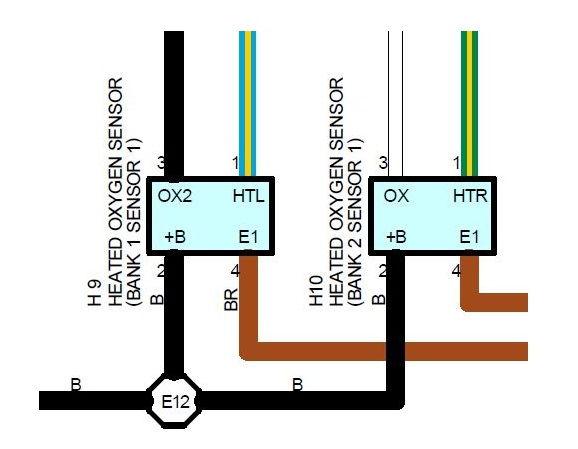 o2 sensor plug wires disconnected - clublexus - lexus ... lexus 4 wire oxygen sensor diagram #4