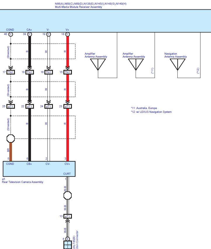 2013 lexus gs backup camera wiring diagram: