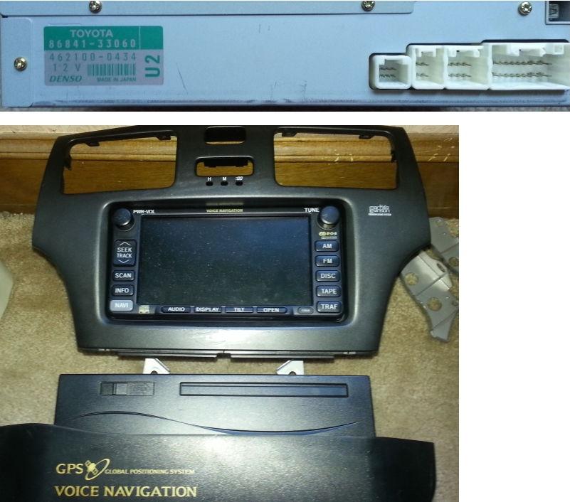 Navigation System Installation 2002 2003 Clublexus