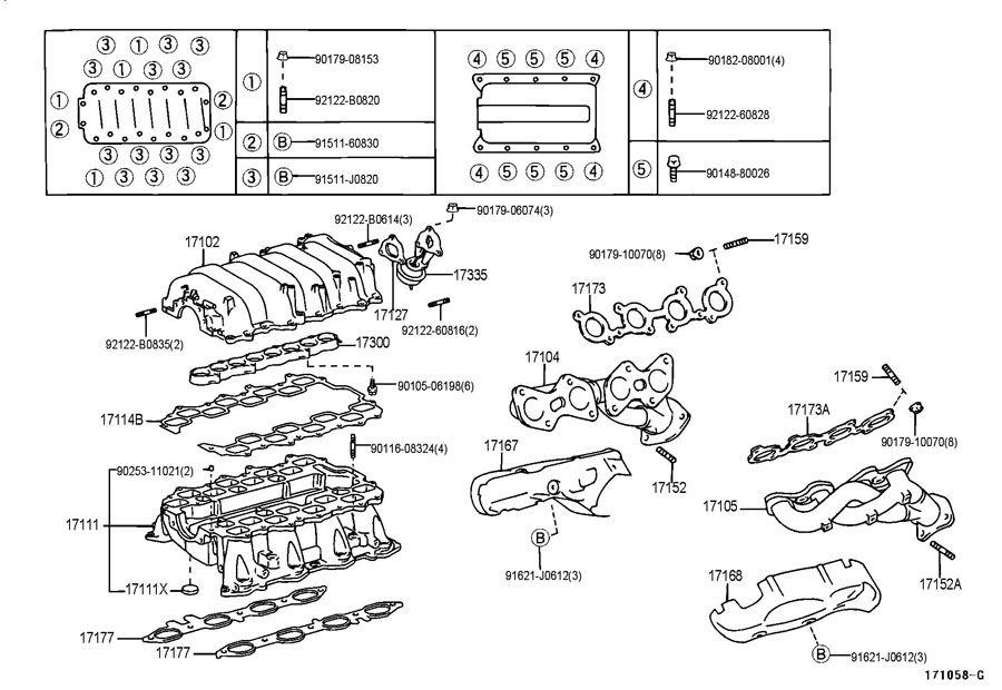 intake manifold 1998 - 2000 ls400 - clublexus