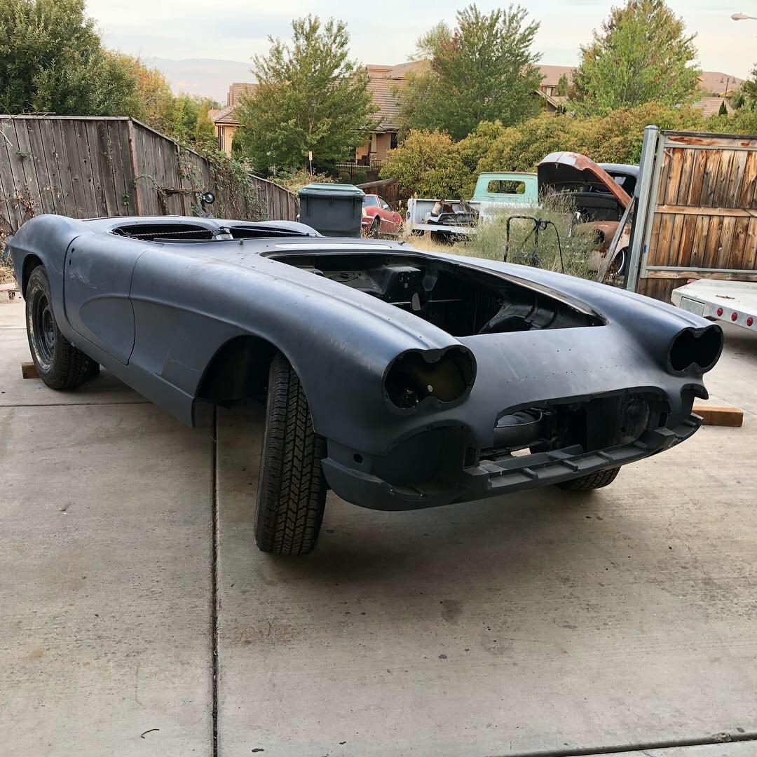 Fs  For Sale  1962 Big Brake Fuel Injection Corvette