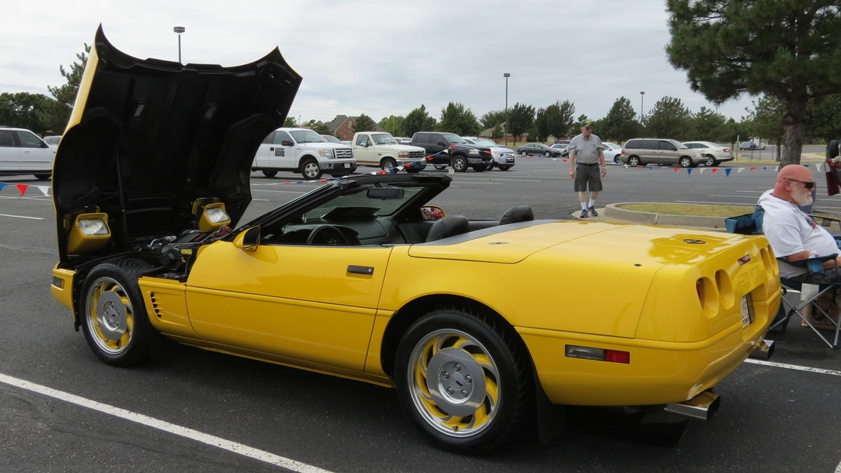 I took my 1994 competition yellow supercharged convertible to an open show in okc saturday and took first place in my class it was fun taking the c4