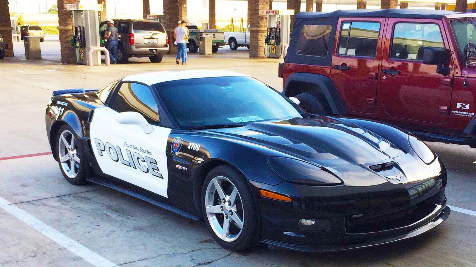 Corvette Police Car: Z06 4 Pics Of A Z06 Texas Police Car