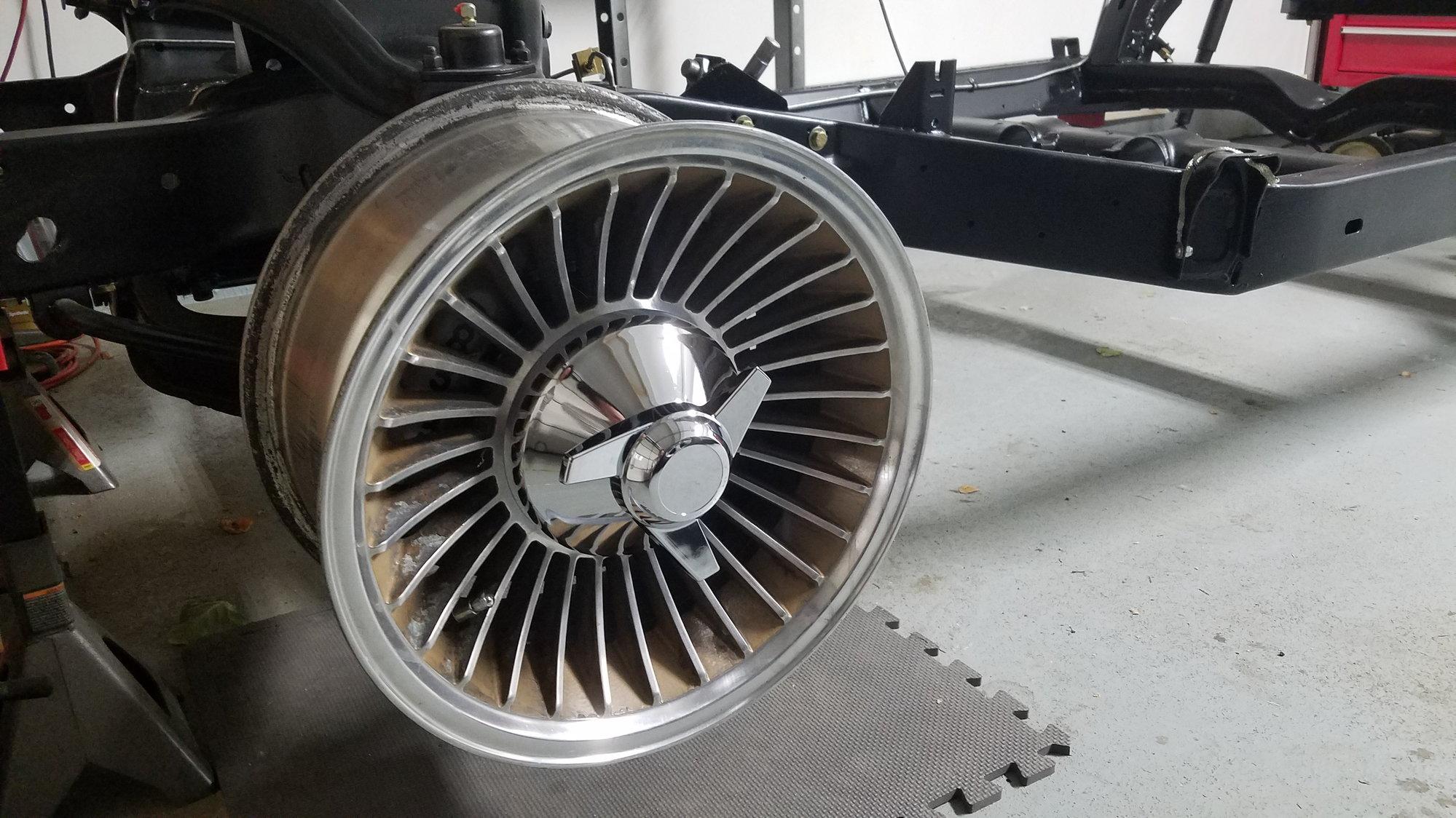 Faux knock offs using turbine wheels CorvetteForum Chevrolet