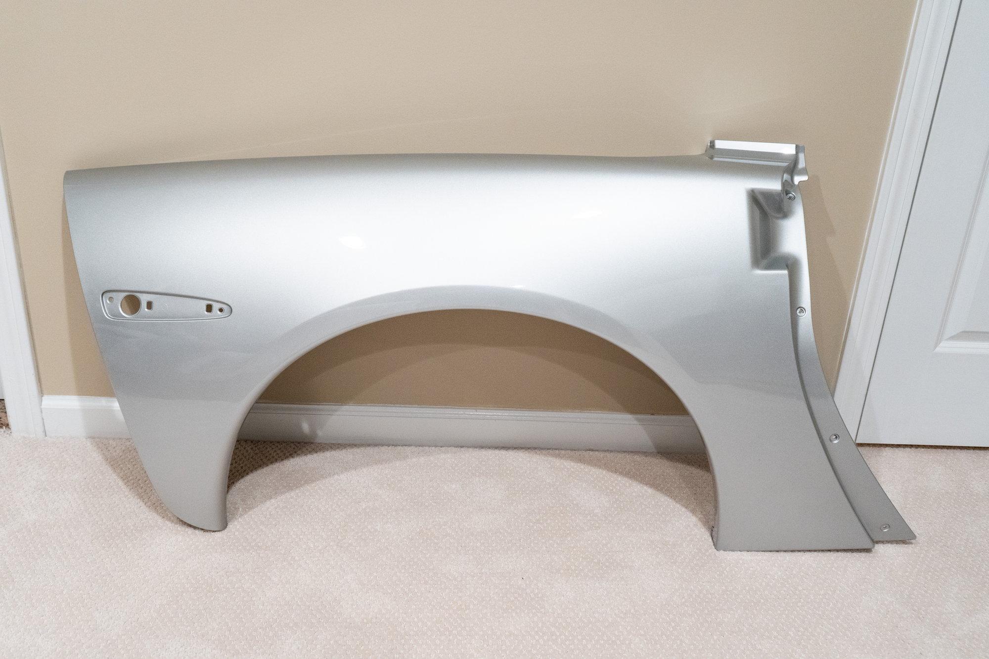 FS: 2012 Base C6 rear quarter panels with inner fendersFS: 2012 Base C6 rear quarter panels with inner fenders