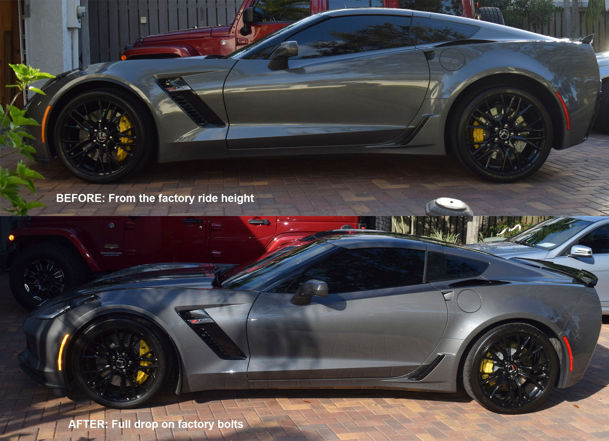 Can you safely lower the 2016 Z06?
