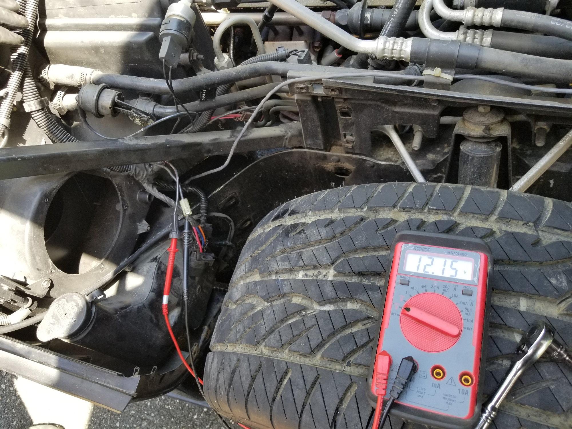 Blower motor not working - CorvetteForum - Chevrolet