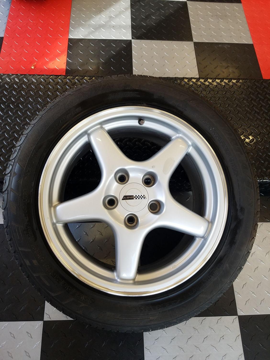 2008 Corvette For Sale >> C4 Corvette 1996 OEM Collector Edition Wheels, Tires (ZR1), Michelin Pilot Sport A/S ...