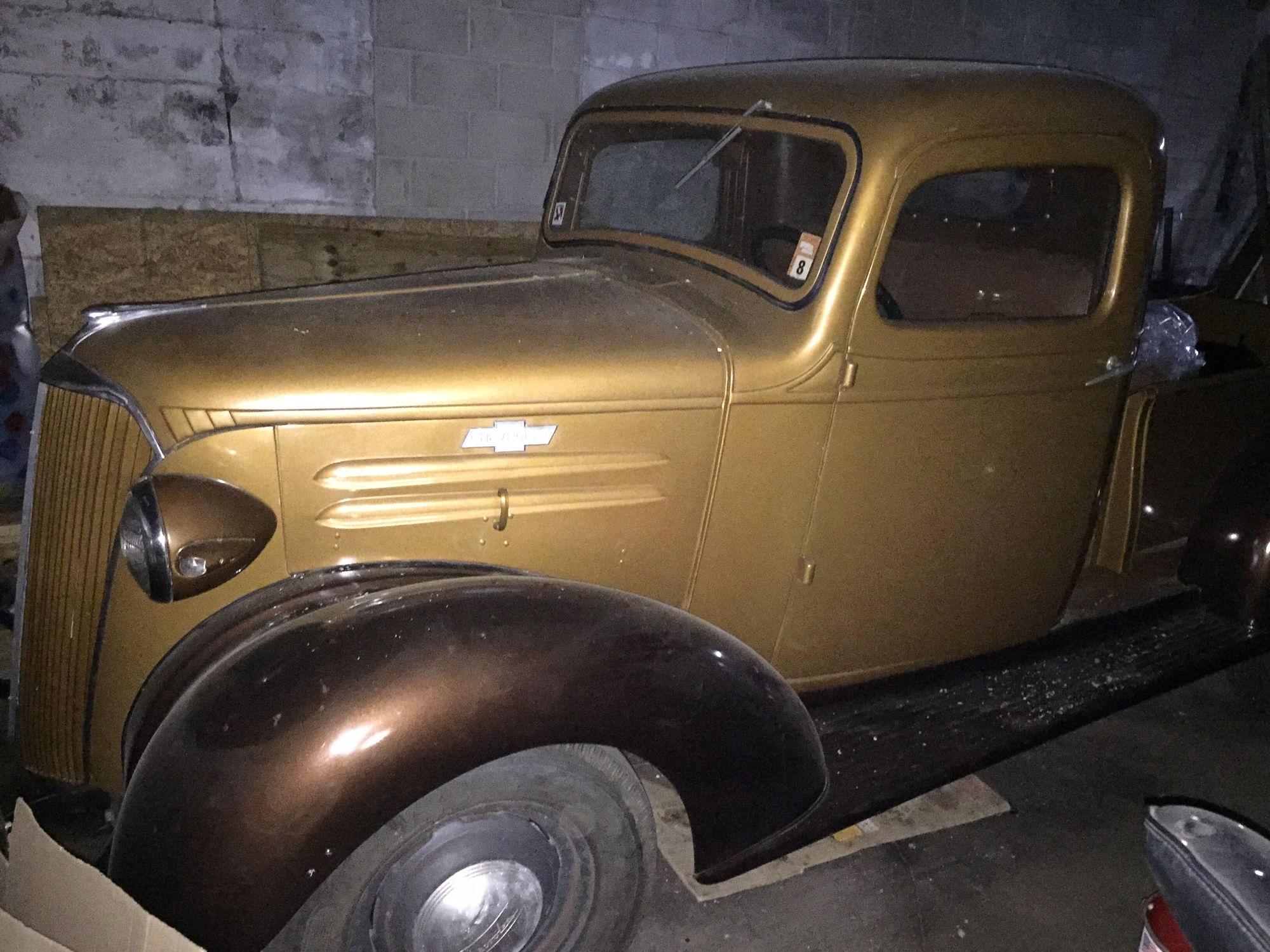 For Sale 1937 chevy 1/2 ton truck stock - CorvetteForum - Chevrolet ...