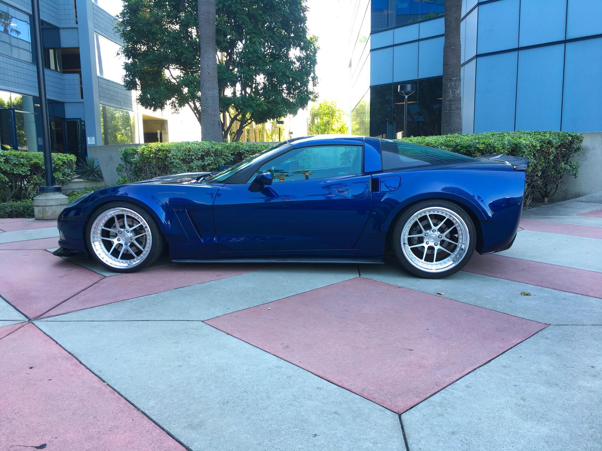 Corvette Base C6 Widebody No Bolts Fender Flares