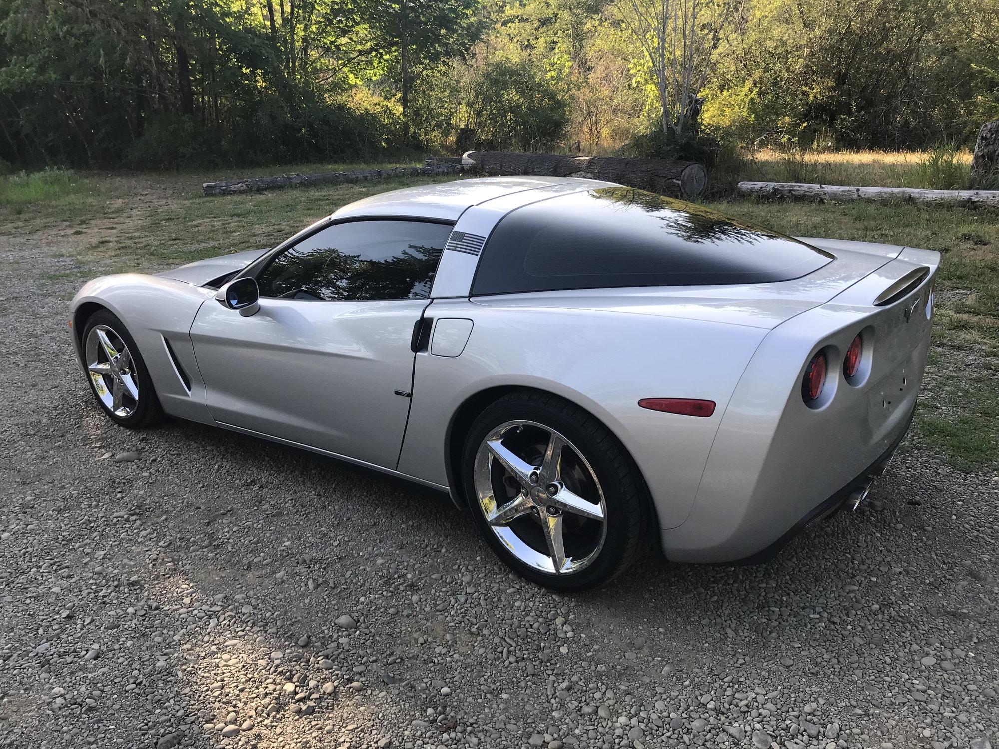 2005 convertible - Silver automatic - $22k - CorvetteForum
