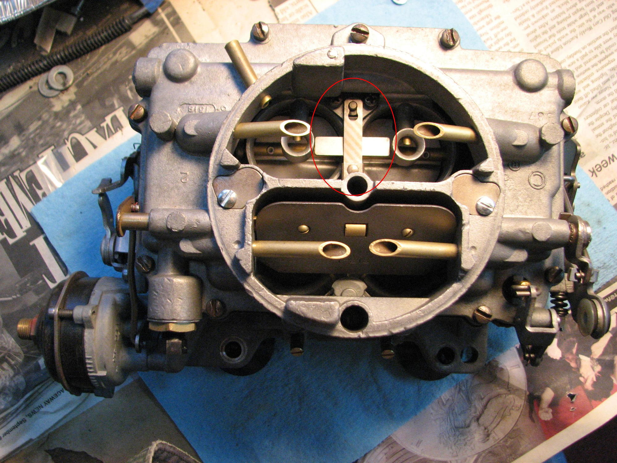Orginial Carter AFB 3461S Heat Sensor - CorvetteForum