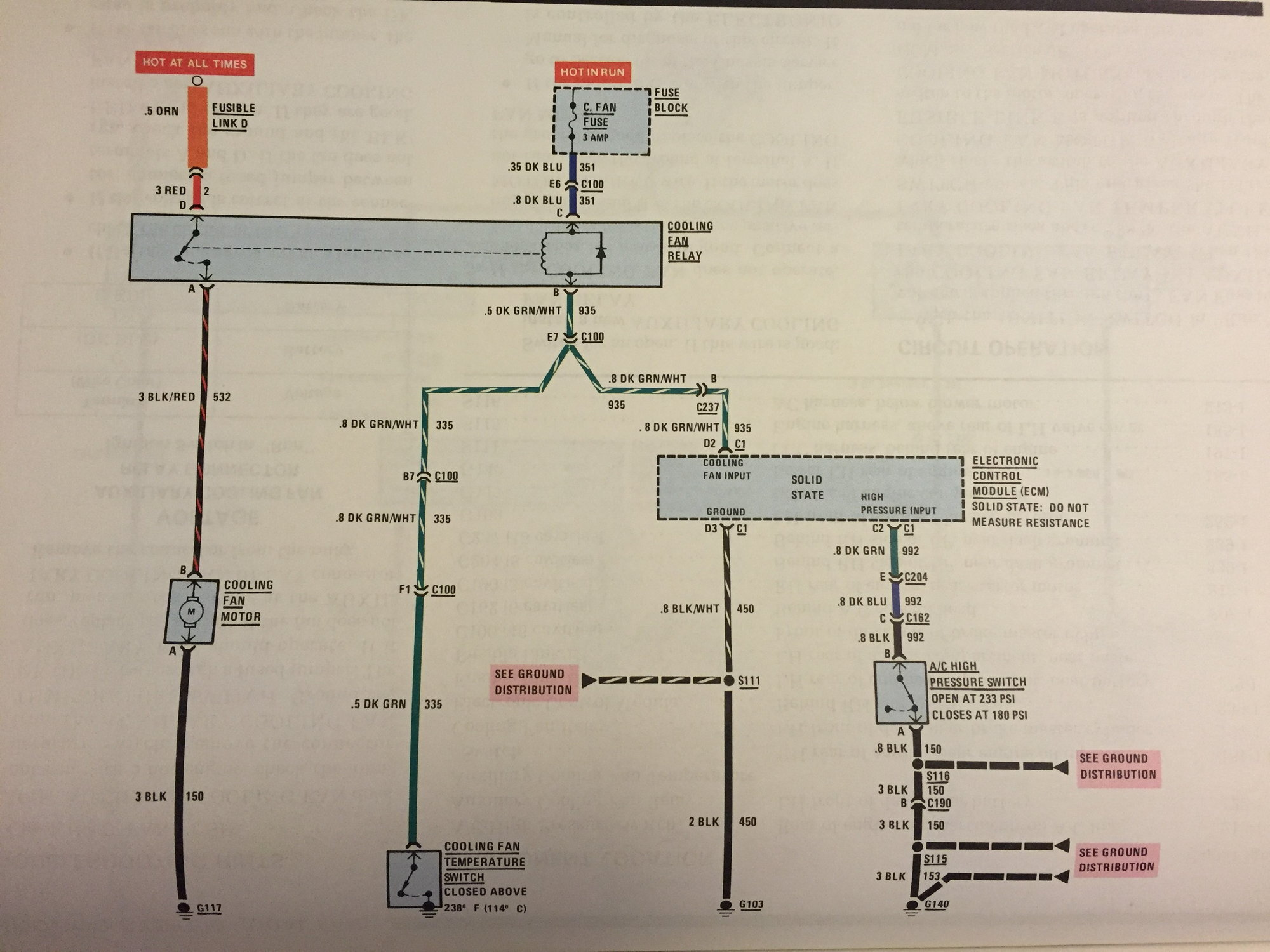 That is the wiring diagram from my 85 shop manual, it appears that it  should work as I'm intending. Unless I'm reading something wrong here. as  soon as the ...